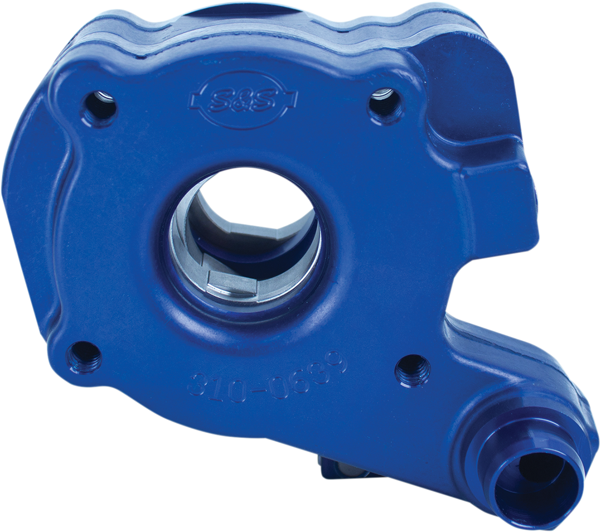 S&S Blue TC3 Chain Gear Oil Pump for 06-17 Harley Dyna Touring Softail Rocker