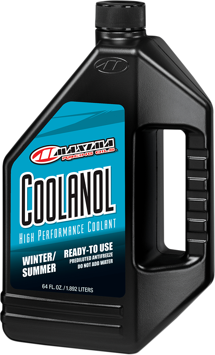 Maxima Racing Coolanol 1 Liter UTV ATV Side by Side Motorcycle Engine Coolant