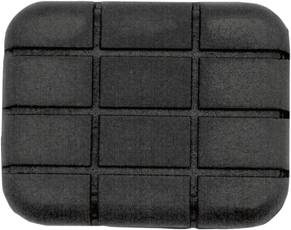 Drag Specialties Driver Black Rubber Brake Pedal Pad Insert Harley Davidson