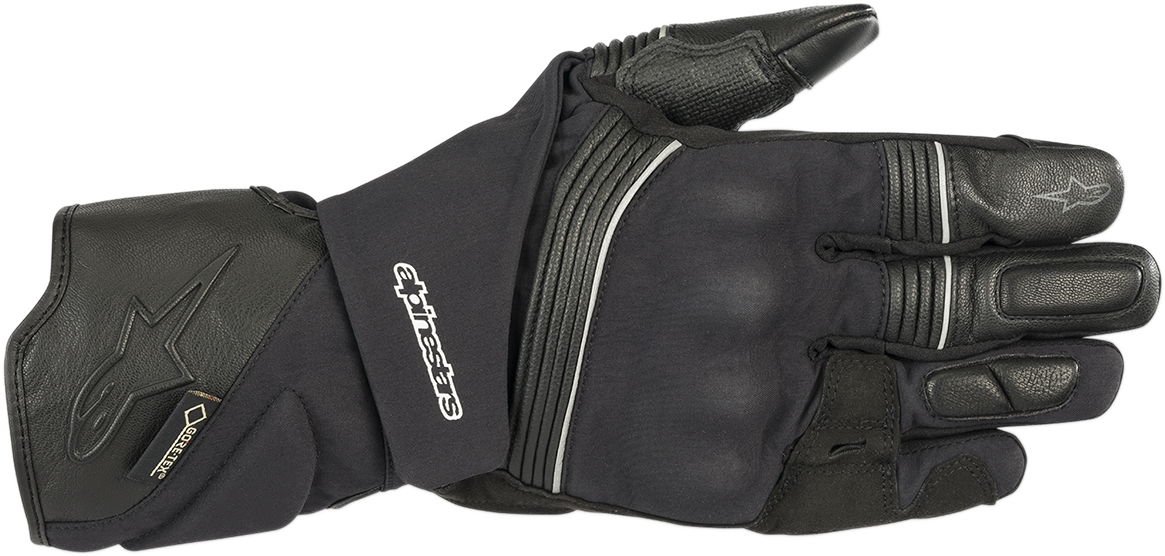 Alpinestars Black Textile Jet v2 Mens Motorcycle Riding Street Racing Gloves