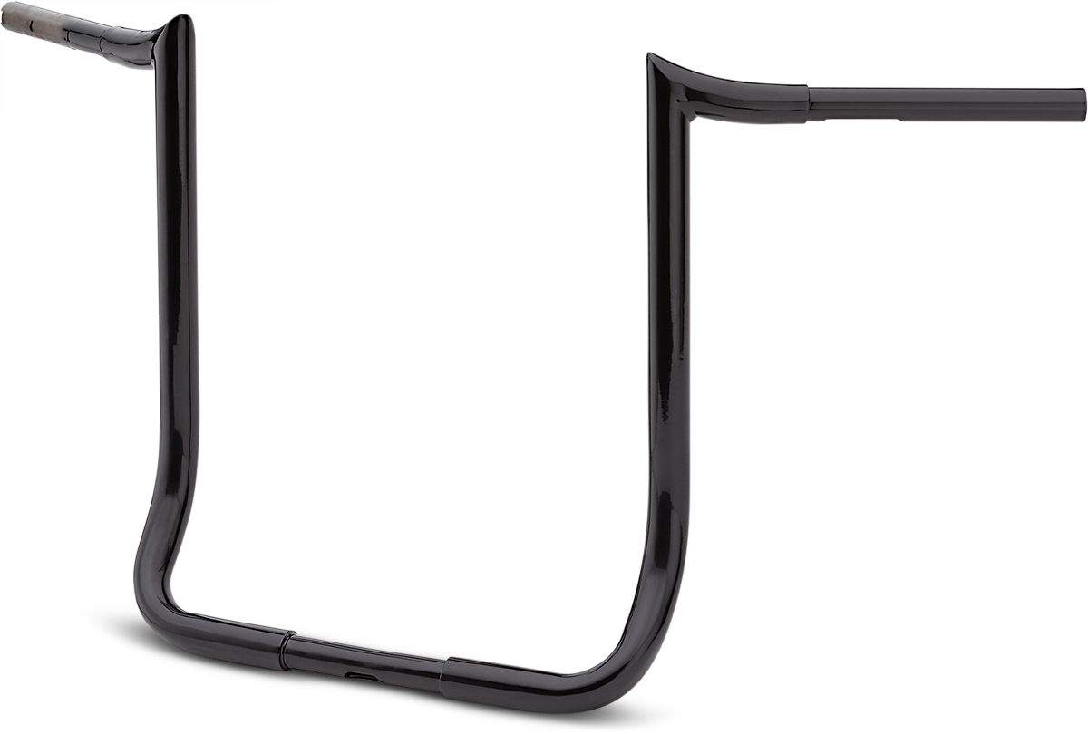"La Choppers Black 18"" Prime Ape Handlebar for 83-19 Harley Touring FLHT FLHTC"