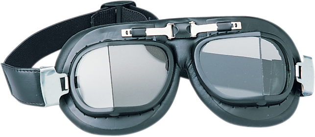Drag Specialties Red Baron Unisex Clear Single Tinted Lens Goggles