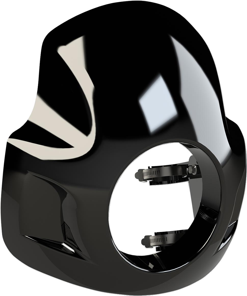 Burly Black Cafe Sport 35mm-49mm Universal Front Fairing for Harley Davidson