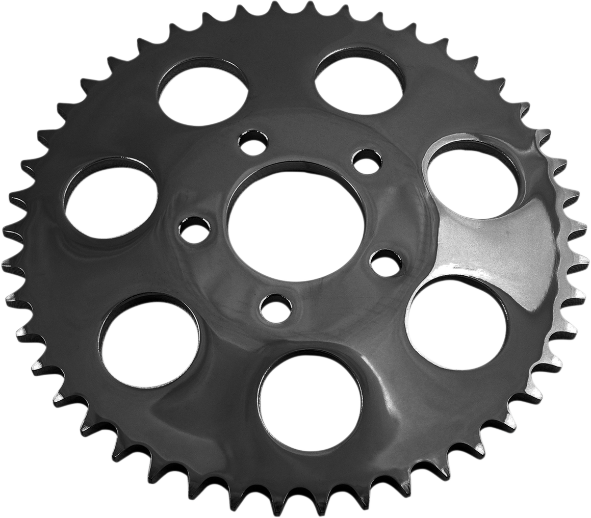 Drag Specialties Black Dished 51 Tooth Rear Sprocket for 00-18 Harley Dyna FLHX