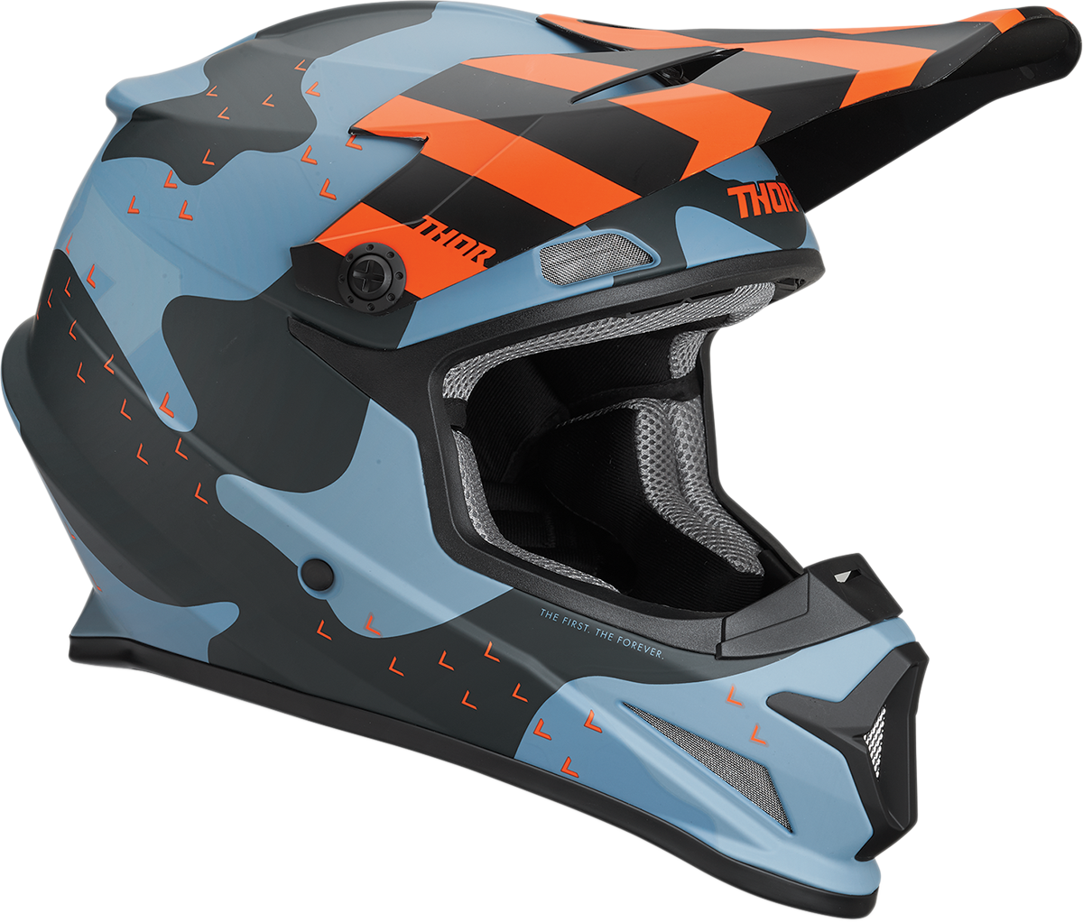 Thor Unisex Mosser Sector Full Face Offroad Riding Dirt Bike ATV Racing Helmet
