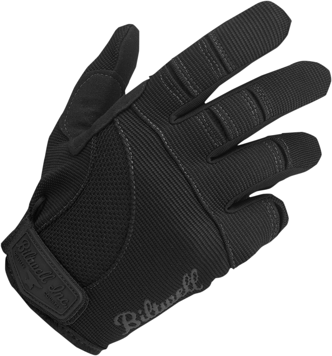 Biltwell Mens Black Textile Moto Motorcycle Street Riding Racing Gloves