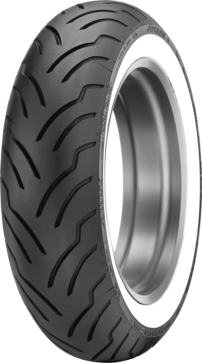 Dunlop American Elite Tubeless Wide White Wall MT90B16 Rear Motorcycle Tire
