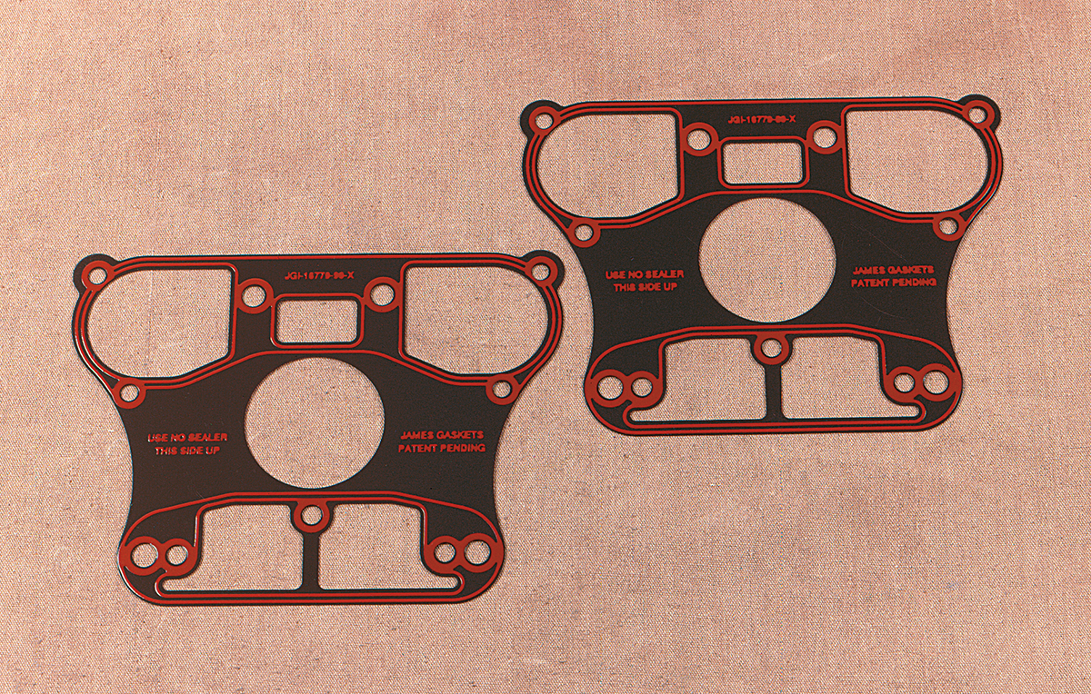 James Gasket Pair Lower Rocker Cover Gaskets for 84-03 Harley Dyna Touring XL