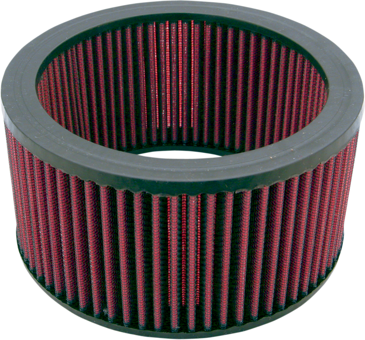 S&S Cycles E&G Carb Gauze Round High Flow Motorcycle Carburetor Air Filter