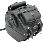 LARGE TRUNK RACK BAGS WITH EXTERIOR POCKETS