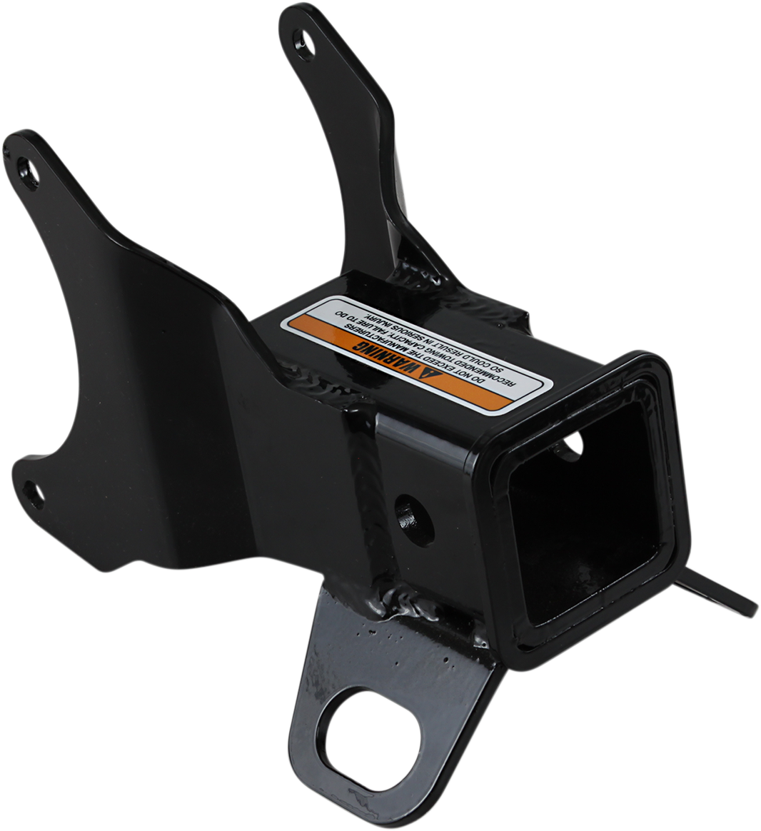"Moose Utility Black Rear 2"" Hitch Receiver for 15-19 Can-Am Outlander Renegade"