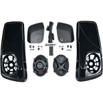 "SADDLEBAG-LID KIT W/ ROKKER®​ XXR 5""X7"" SPEAKERS"
