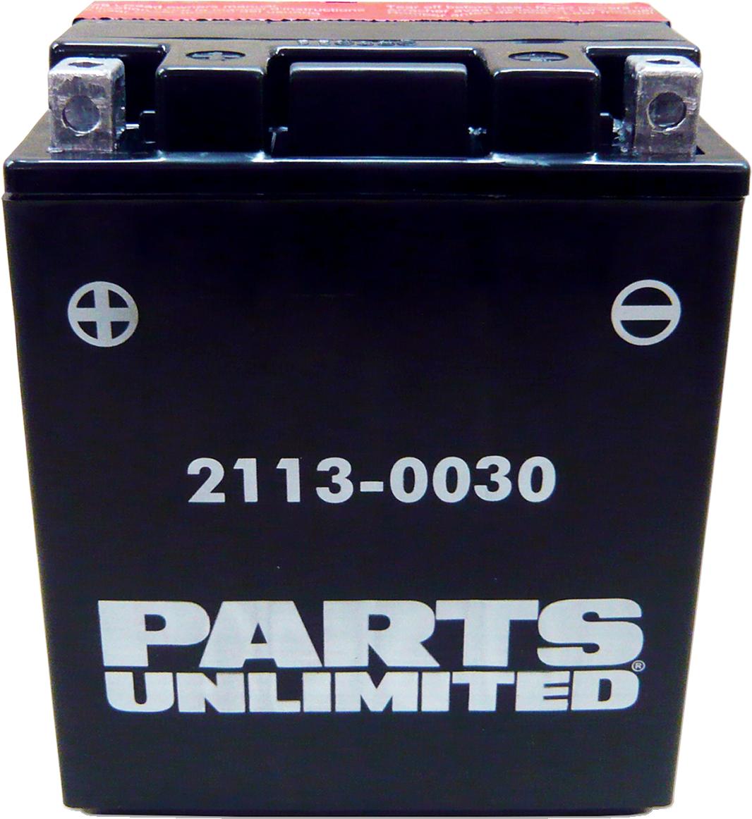 Parts Unlimited YTX14AHBS AGM Battery for 82-17 Yamah Honda Polaris Arctic Cat