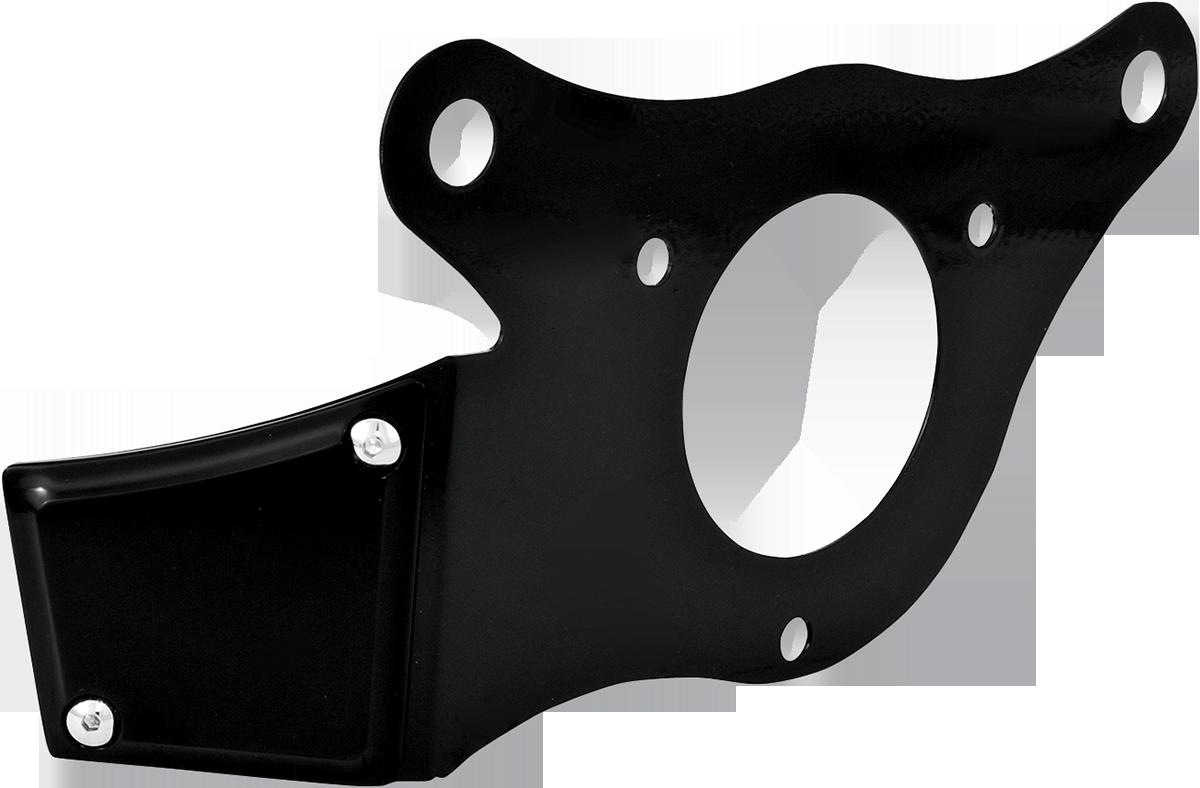 Performance Machine Black Throttle Servo Cover 08-17 Harley Softail Touring FXSB