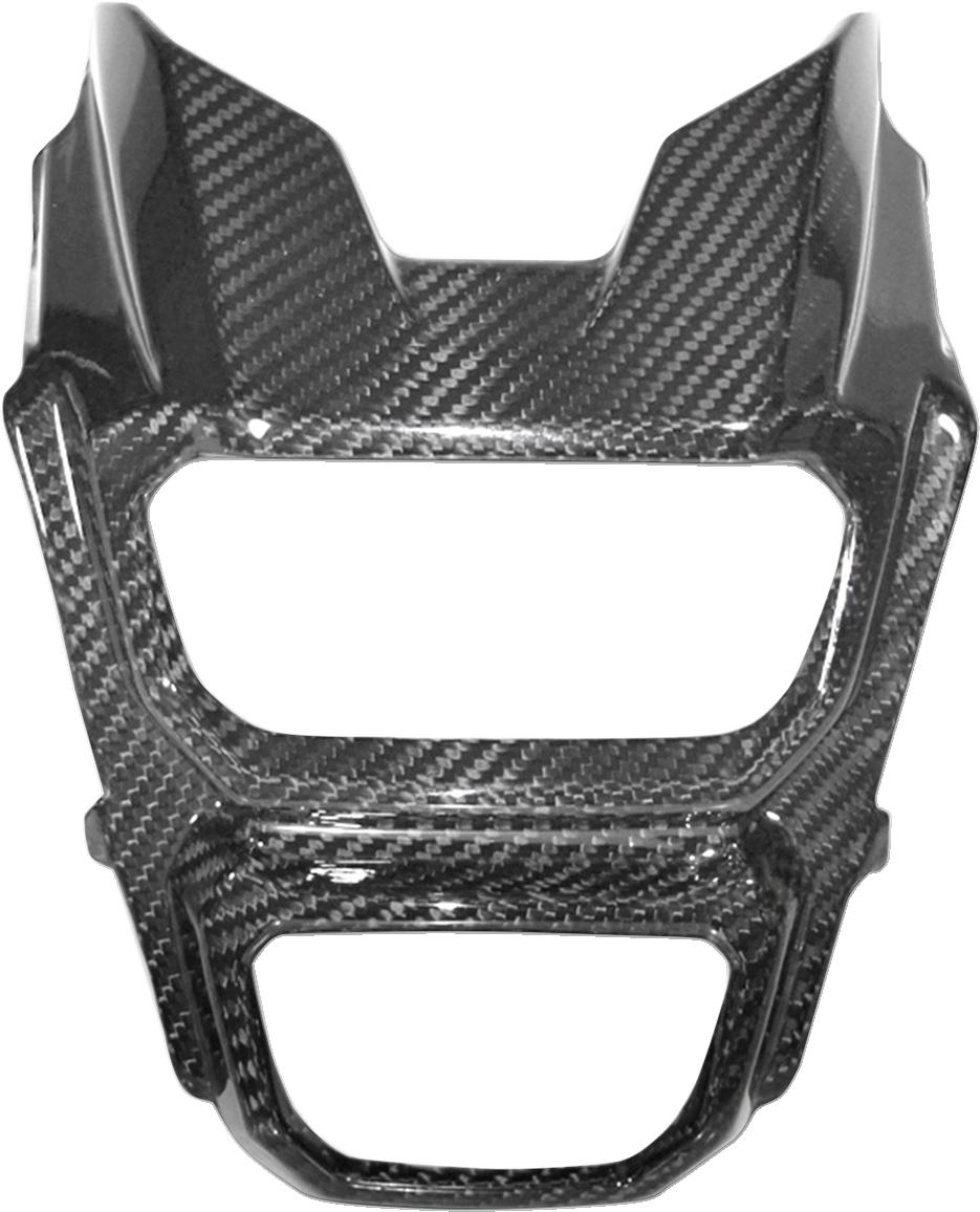 Hot Bodies Carbon Fiber Front Headlight Cover for 17-18 Honda MSX125 Grom