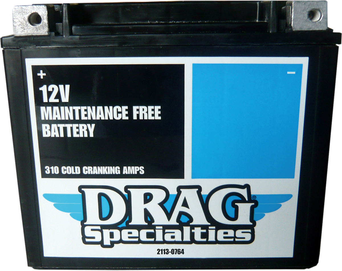 Drag Specialties Factory Activated Maintenance Free Battery 86-96 Harley Sportster XL