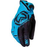 MX1 GLOVES BLUE/BLACK