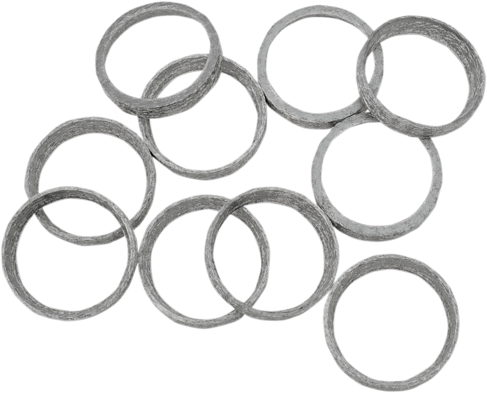 Drag Specialties Single Exhaust Port Gasket for 86-19 Harley Big Twin Sportster