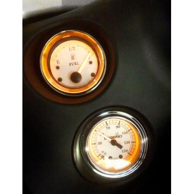 FAIRING MOUNTED LED BACKLIT PSI GAUGES