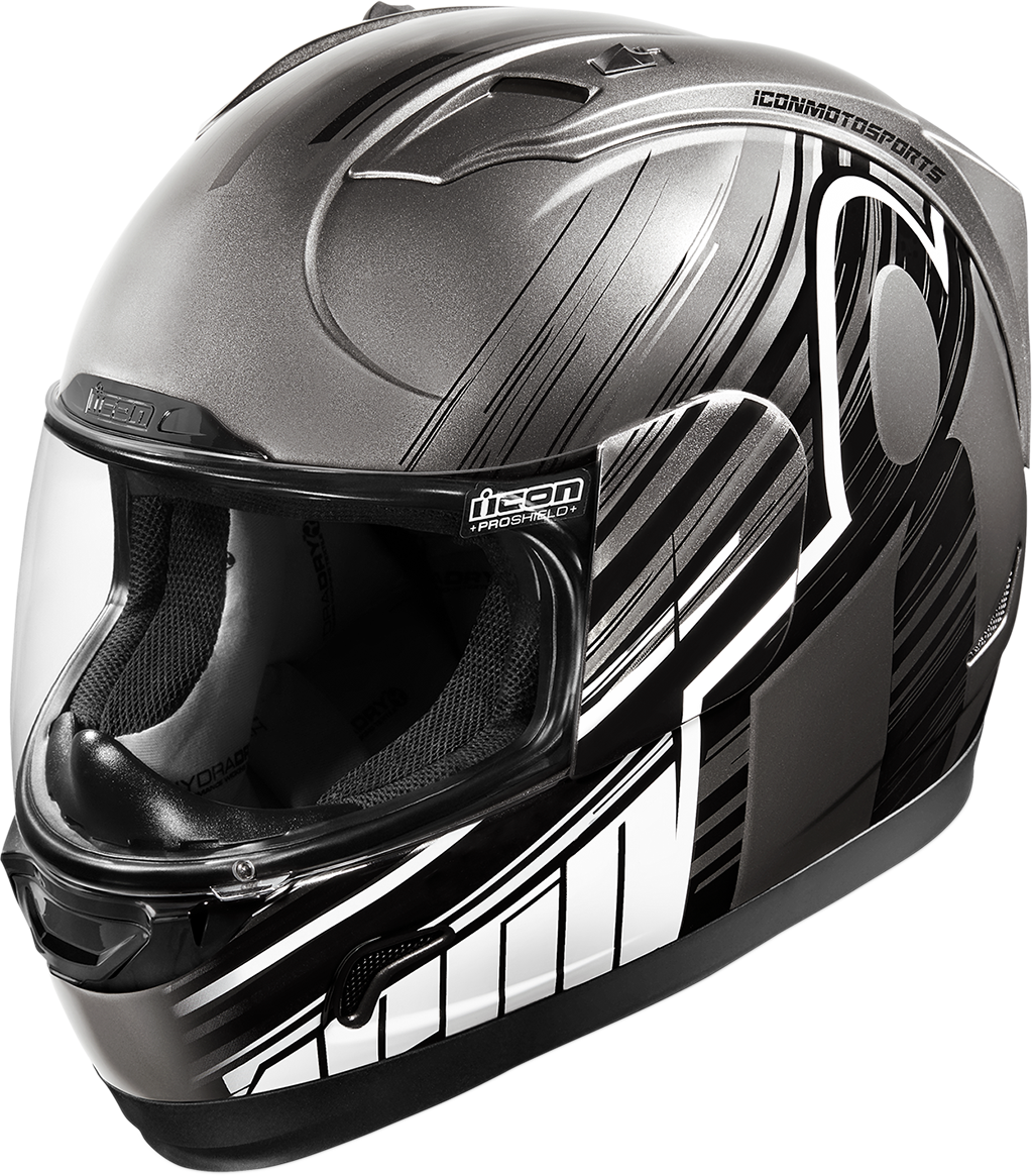 Icon Gloss Overlord Alliance Full Face Motorcycle Riding Street Helmet CLOSEOUT