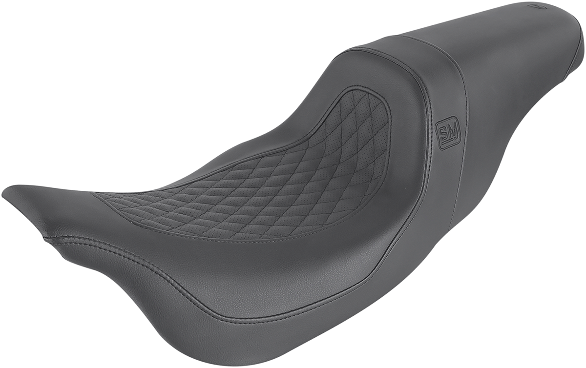 Saddlemen Speed Merchant 2-Up Motorcycle Seat 08-20 Harley Touring FLHR FLHX