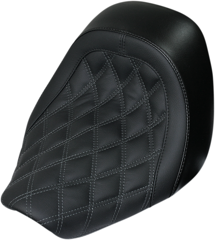 Danny Gary Black Diamond Speedcradle Solo Seat for 08-19 Harley Touring FLHX