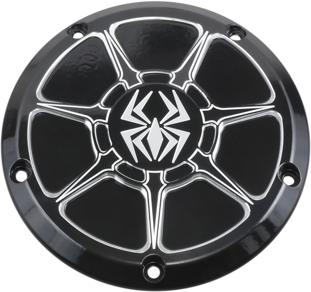 Rekluse Gloss Black 5 Hole Derby Cover for 16-19 Harley Touring FLHX FLHR FLTRU