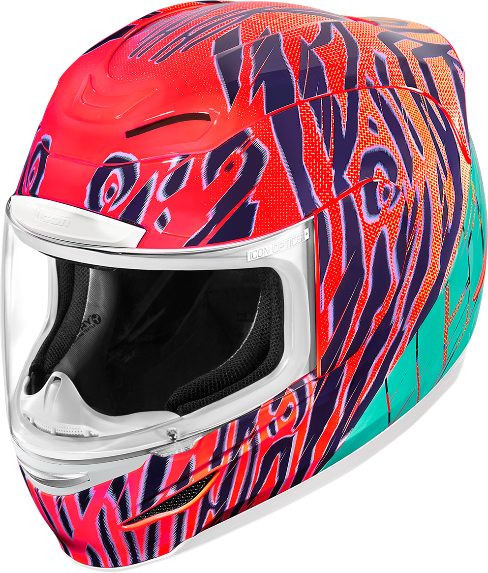 Icon Airmada Wildchild Unisex Fullface Motorcycle Riding Street Racing Helmet