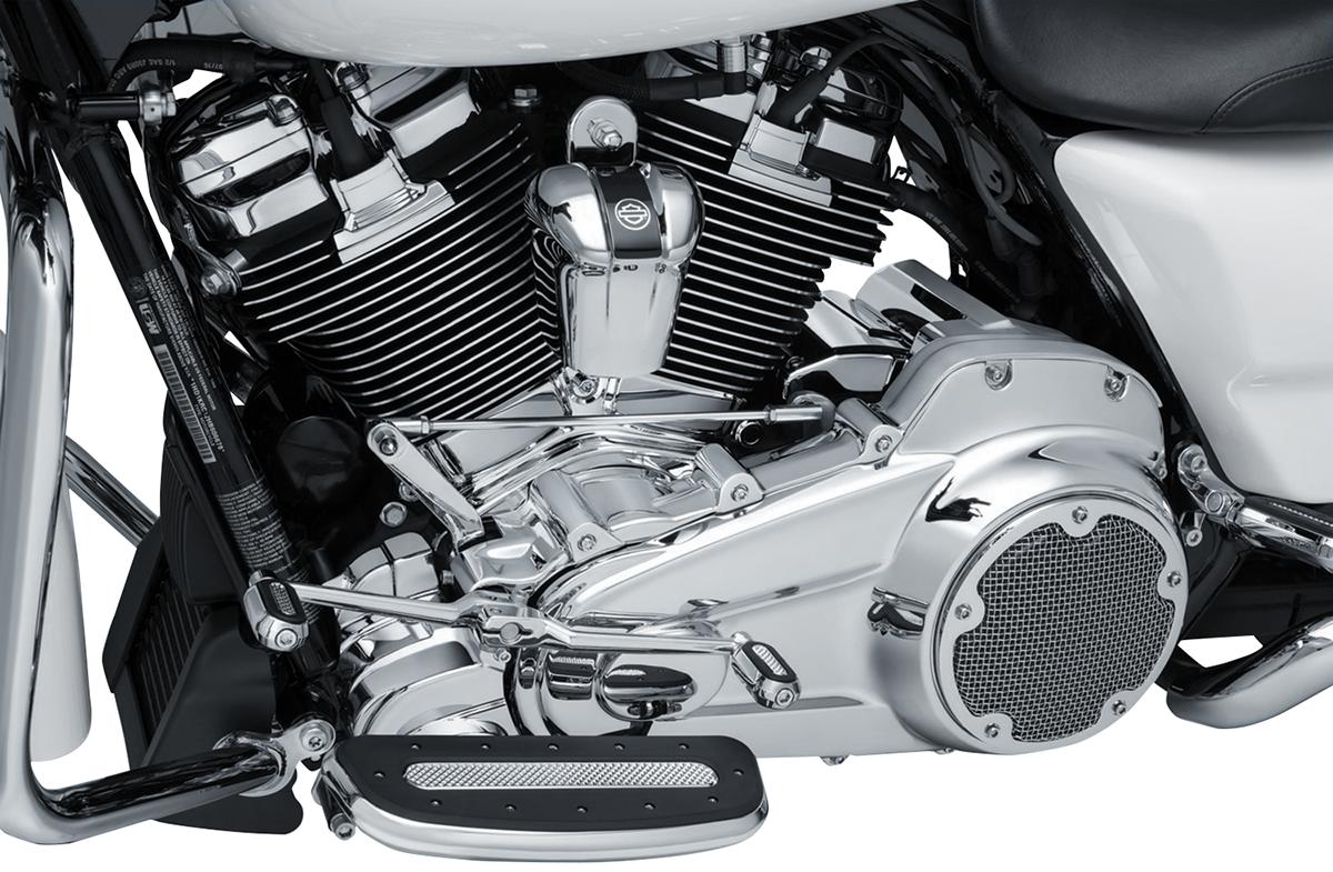 Kuryakyn 6413 Chrome Inner Primary Cover 17-18 Harley Touring Bagger FLHX FLHR
