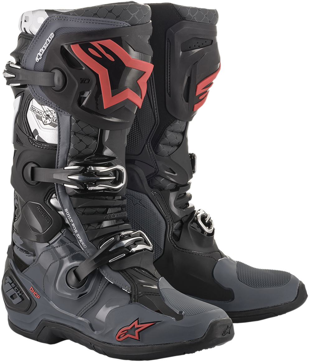 Alpinestars Mens Limited Edition Tech 10 San Diego Offroad Racing Dirtbike Boots