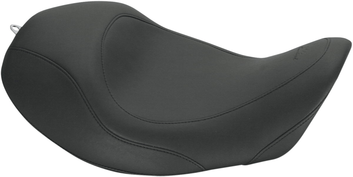 Mustang Tripper Black Motorcycle Solo Seat 06-17 Harley Dyna FXDB FXDF FXDL FLD