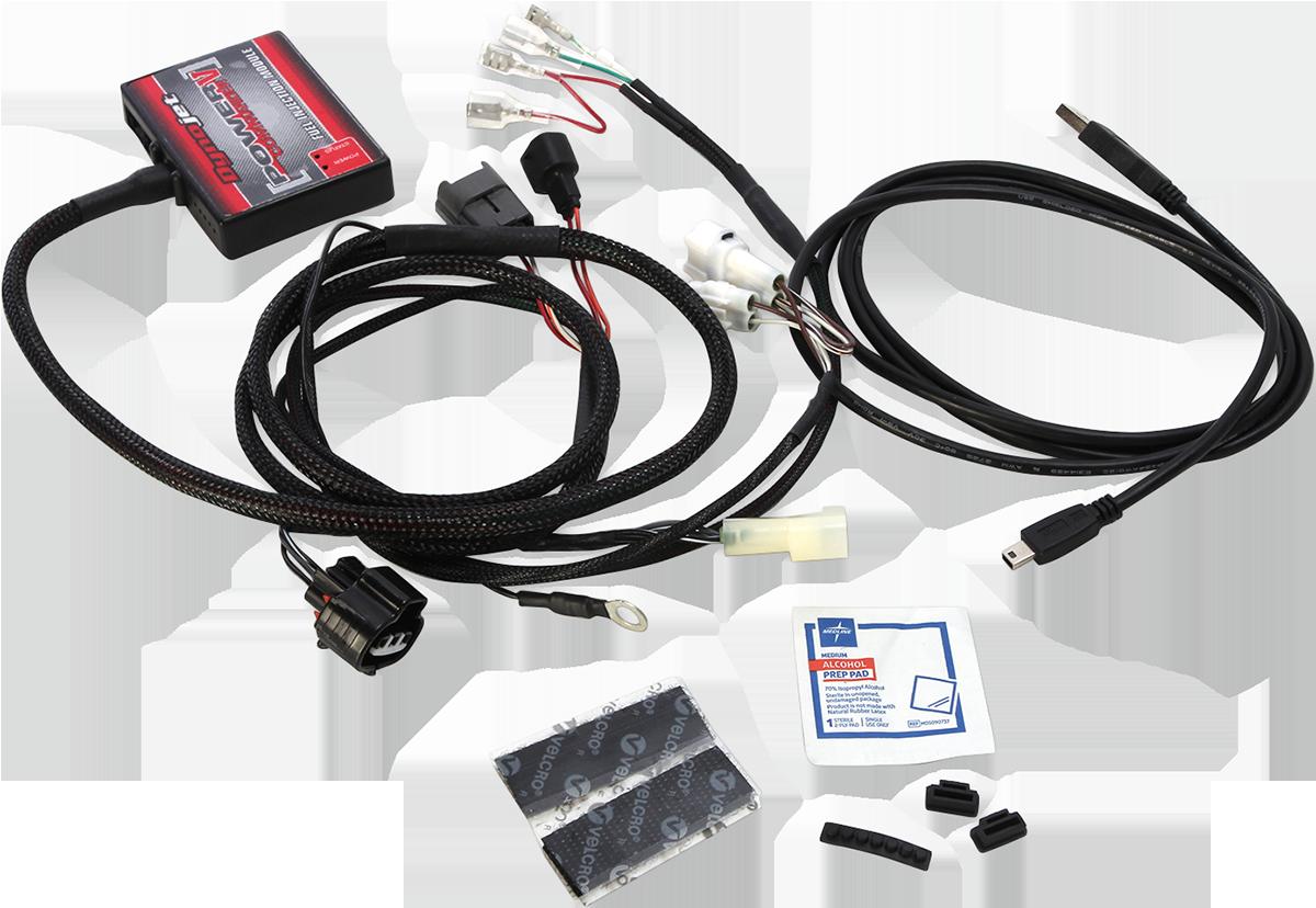 Moose ATV Power Commander V Fuel Injection Module for 15-20 Yamaha Raptor 700