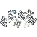 HIGH-LOAD BEEHIVE® VALVE SPRINGS WITH TITANIUM RETAINERS FOR M-EIGHT