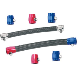 STAINLESS STEEL BRAIDED FUEL/OIL HOSE