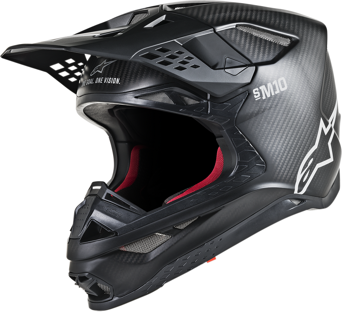 Alpinestars Supertech M10 Unisex Offroad Riding Dirt Bike Atv Utv Racing Helmet