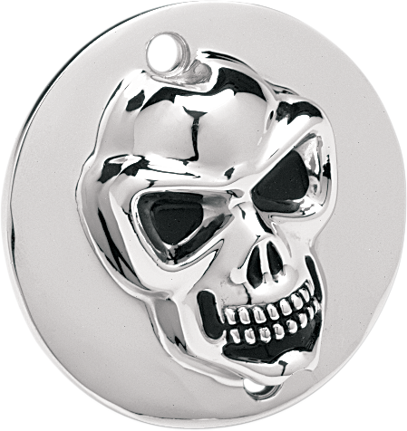 Drag Specialties Chrome Skull Points Cover for 71-09 Harley Sportster Buell XLH