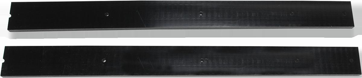 "Moose Utility 72"" Polyethylene Black 2 Piece UTV ATV Snow V-Plow Wear Bars"