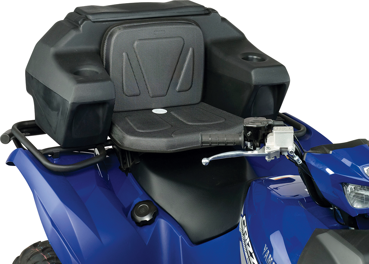 Moose Black ATV Lockable Latch Rear Helmet Storage Rack Trunk & Seat