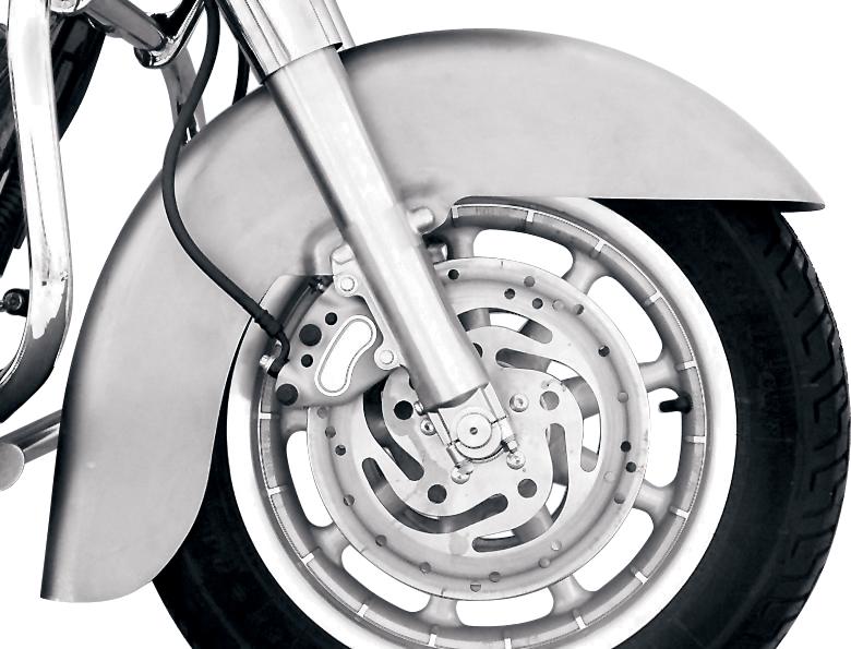 """Russ Wernimont 16"""" 21"""" Front Fender for 94-13 Harley Touring Bagger FLHT FLHX"""
