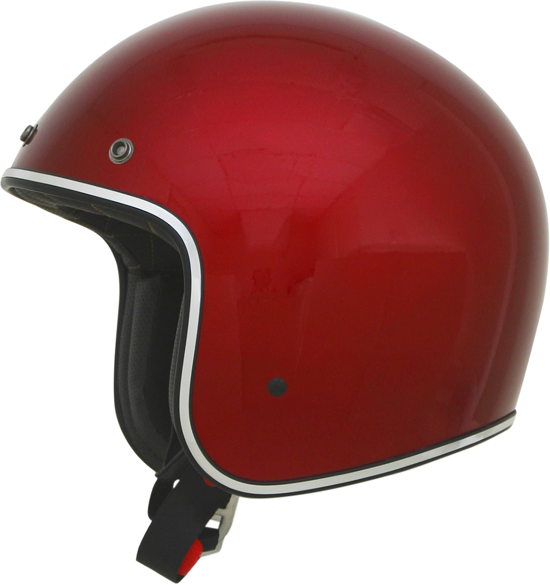AFX FX76 Candy Apple Red Large Unsiex Motorcycle Riding Street 3/4 Helmet