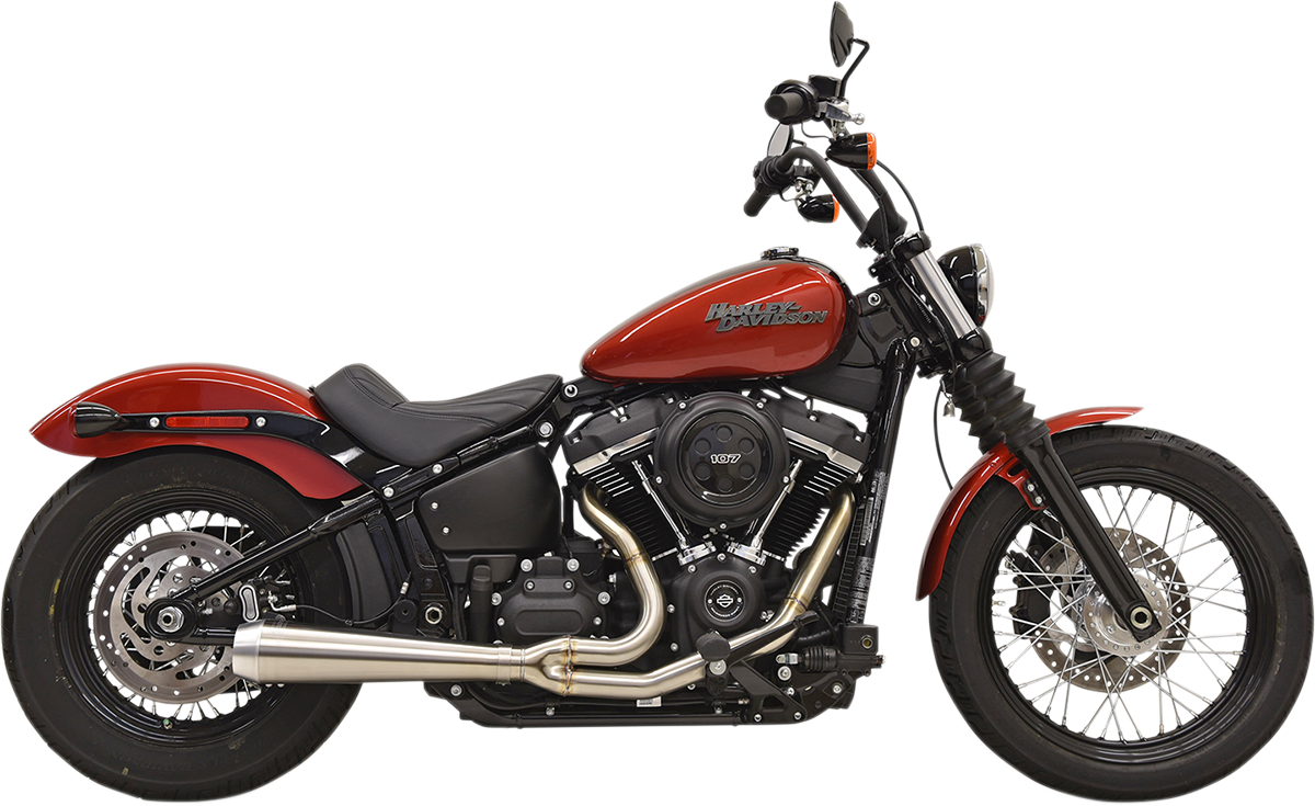 Bassani 2-1 Stainless Steel Road Rage Exhaust for 2018 Harley Softail FLSL FXFB