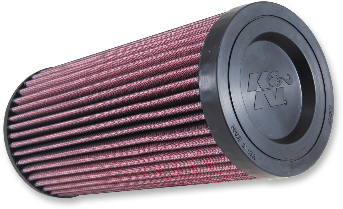 K&N Black Red Reusable UTV Air Filter for 15-17 Polaris RZR ESP 900 1000 Ace 900
