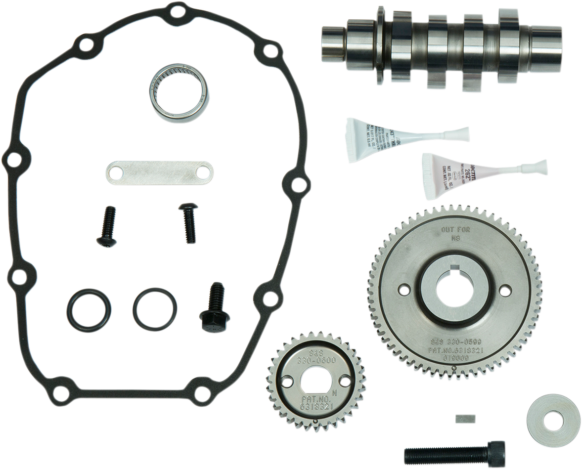 S&S 465 Series Motor Gear Cam Kit for 17-18 Harley M8 Touring Softail Breakout