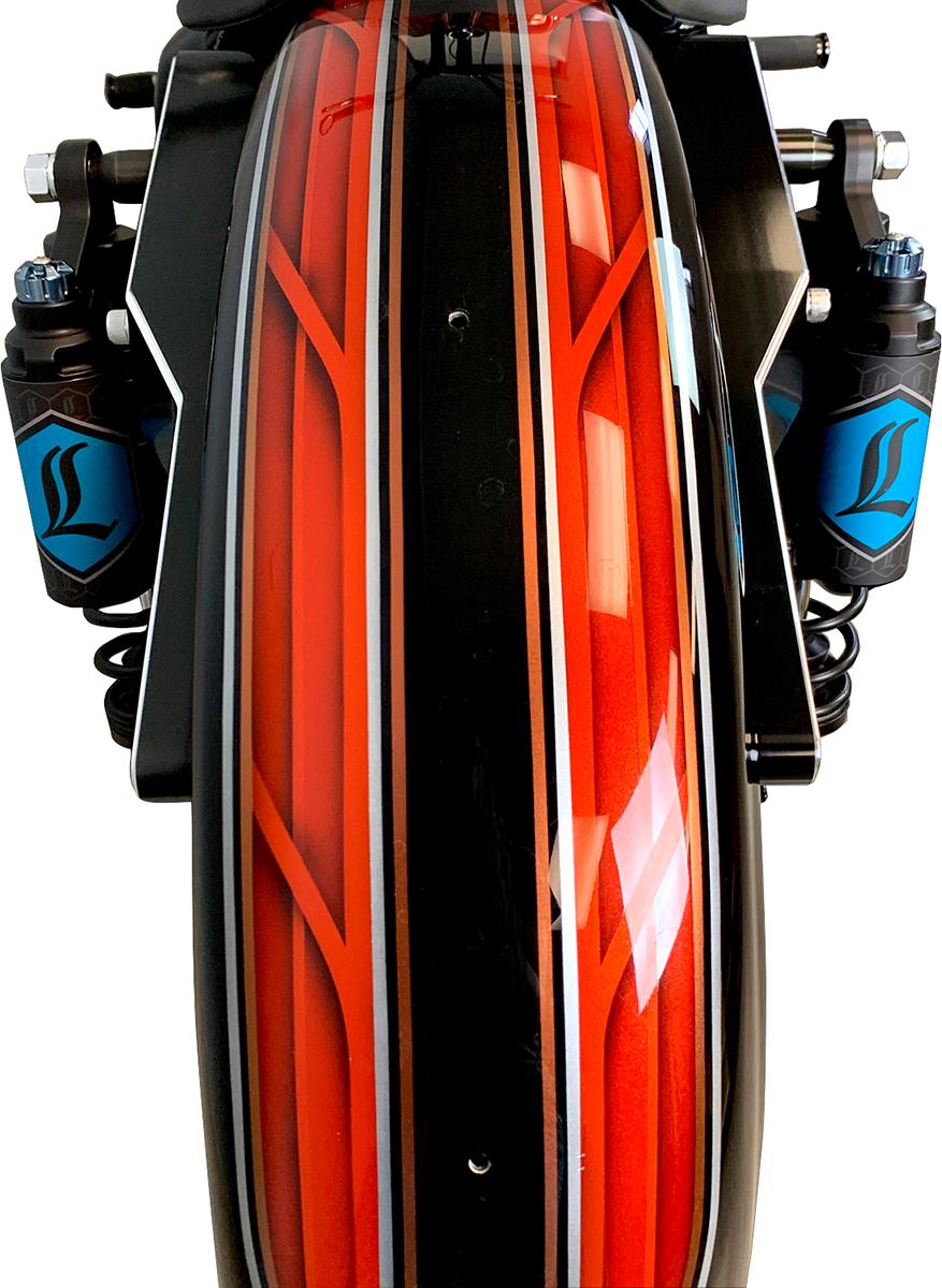 "Legend Revo ARC Piggyback 13""Standard  Rear Coil Shocks for 84-00 Harley FXR"