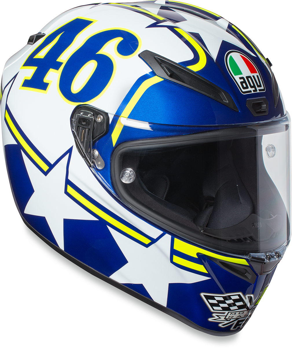 AGV Unisex Ranch Veloce S Full Face Motorcycle Riding Street Racing Helmet