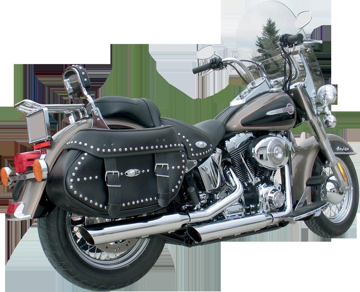 Khrome Werks HP-Plus Chrome Rear Slip on Mufflers for 07-17 Harley Softail FXSB
