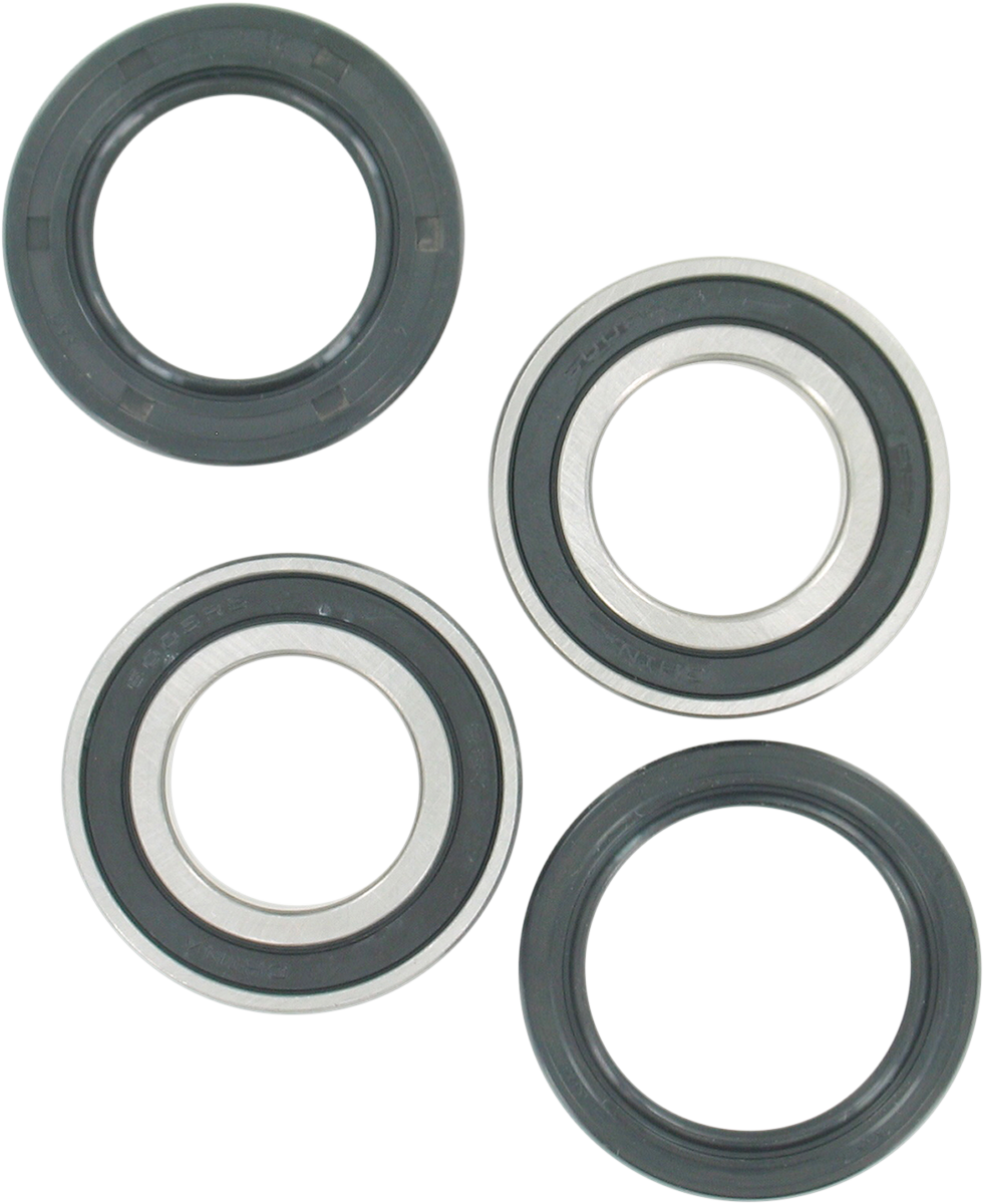 Polaris Outlaw 110 2016-2017 Both Front Wheel Bearings And Seals