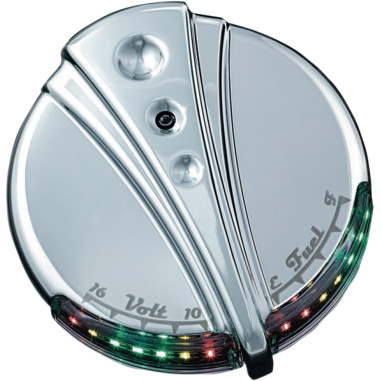 DECO LED FUEL AND BATTERY GAUGE