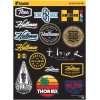 HALLMAN DECAL SHEET
