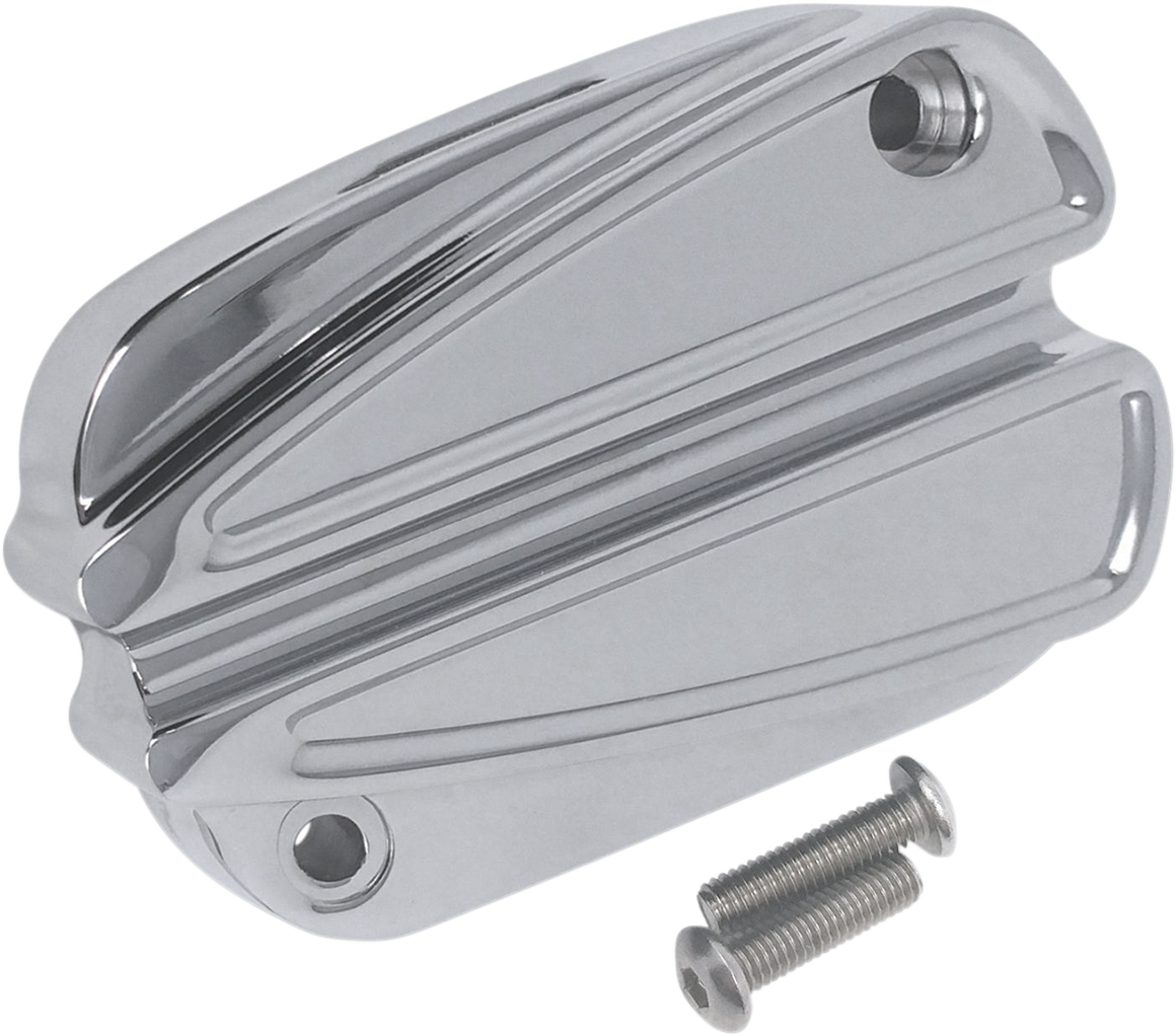 Covingtons Chrome Handlebar Master Cylinder Cover for 13-19 Harley Touring FLHX